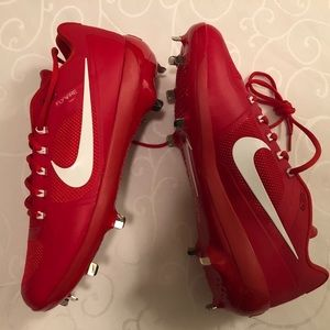 NEW Nike Air Coop Flywire Baseball Cleats Size 12